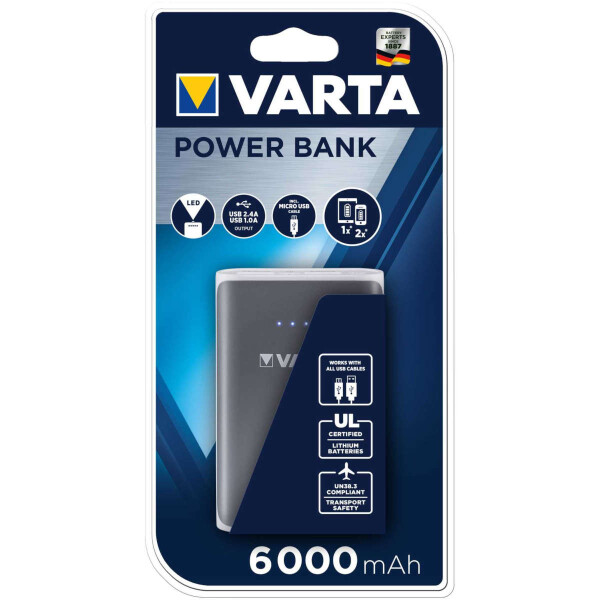 Varta Power Bank 6000mAh