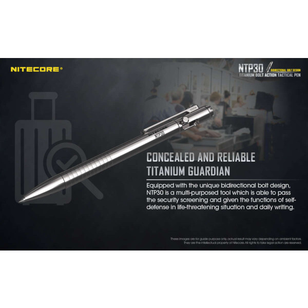 Nitecore NTP30 Titan Tactical Pen
