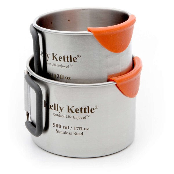 Kelly Kettle Scout Ultimate Kit 1.2l Edelstahl