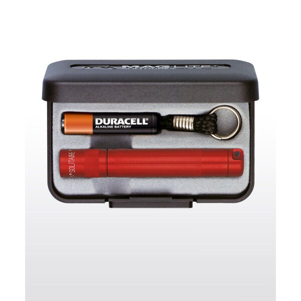 Maglite Solitaire LED Taschenlampe rot